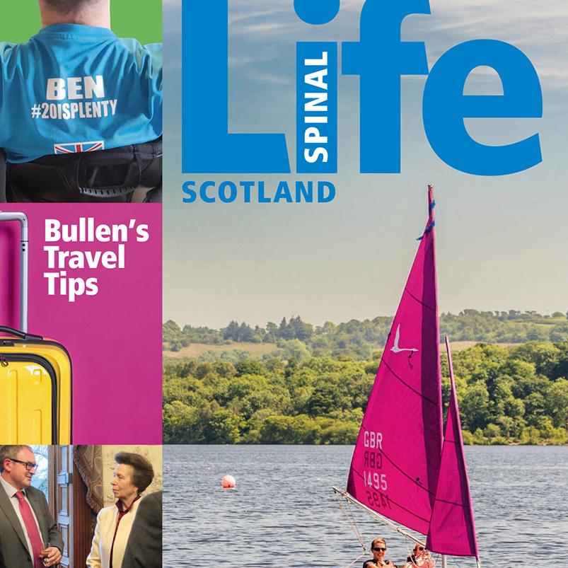 Spinal Injuries Scotland – Spinal Life Magazine